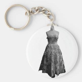 Vintage Dress 2 Key Chains