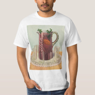 Vintage Drinks and Beverages, Pitcher of Iced Tea T-Shirt