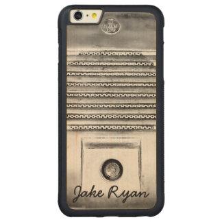 Vintage Drive-In Speaker iPhone Wood Case Carved® Maple iPhone 6 Plus Bumper