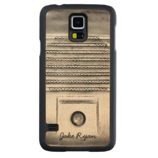 Vintage Drive-In Speaker Samsung S5 Slim Wood Case Carved® Maple Galaxy S5 Slim Case