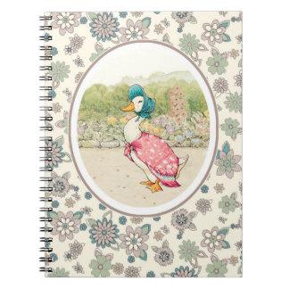 Vintage Duck Easter Gift Notebooks