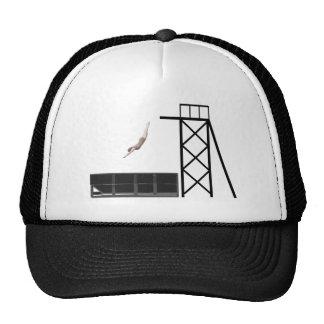 vintage dumpster diving gifts cap