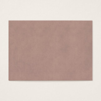 Vintage Dusty Peach Parchment Template Blank Business Card