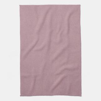 Vintage Dusty Rose Parchment Template Blank Tea Towel