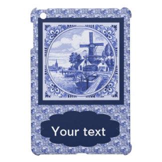 Vintage Dutch Blue Delft tile iPad Mini Case