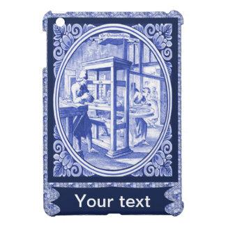 Vintage Dutch Blue Delft tile iPad Mini Cases