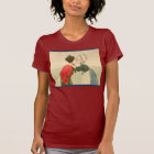 Vintage Dutch design, 1905 Girl and boy kissing T-Shirt