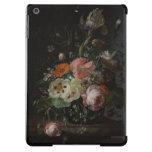Vintage Dutch Still Life with Flowers iPad Case