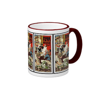 Vintage Dutch Theater Advertisement - Verschuuren Ringer Mug