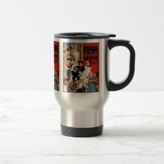 Vintage Dutch Theater Advertisement - Verschuuren Stainless Steel Travel Mug