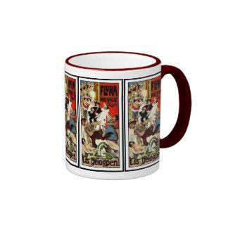 Vintage Dutch Theatre Advertisement - Verschuuren Ringer Mug