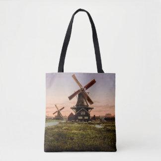 Vintage Dutch Windmills bags