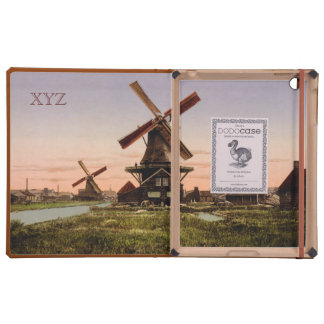 Vintage Dutch Windmills custom cases Case For iPad