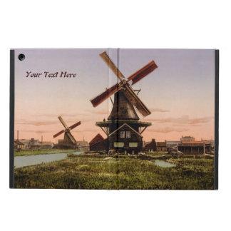 Vintage Dutch Windmills custom cases iPad Air Cases