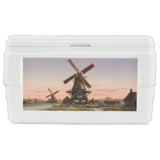 Vintage Dutch Windmills custom cooler