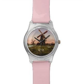 Vintage Dutch Windmills custom watches