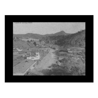 Vintage Early View Estes Park Colorado CO Postcard
