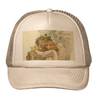 Vintage Easter Angel Hat