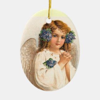 Vintage Easter Angel Ornament