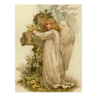 Vintage easter angel gifts t shirts art posters other gift vintage easter angel postcard negle Image collections