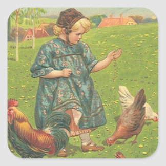 Vintage Easter Art Holiday stickers