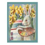 Vintage Easter Bunny Artist