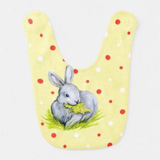 Vintage Easter Bunny Baby Bib