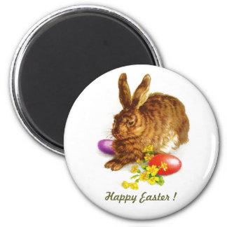 Vintage Easter Bunny Gift Magnet