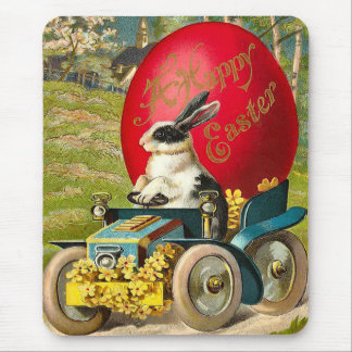 Vintage Easter Bunny Mousepad