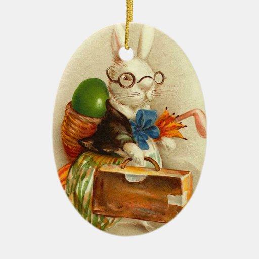 Vintage Easter Bunny Ornament