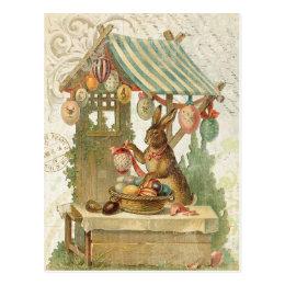 Vintage easter gifts on zazzle uk vintage easter bunny postcard negle Choice Image