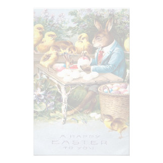 Vintage Easter Bunny Stationery