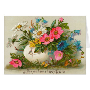 Vintage victorian easter gifts gift ideas zazzle uk vintage easter card negle Images