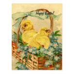 Vintage Easter Chicks Post Cards