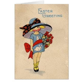 Vintage Easter Cutie - Card