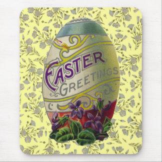 Vintage Easter Egg Mouse Pad