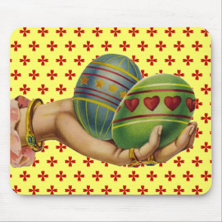 Vintage Easter Eggs Mouse Pad