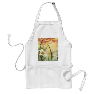 Vintage Easter Lilies and Angels at Sunrise Aprons
