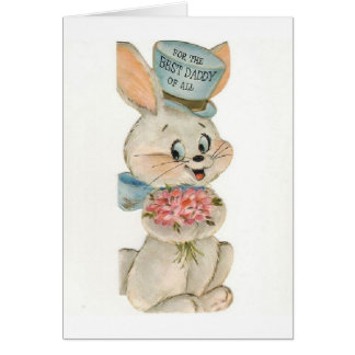 Vintage Easter Wishes for Daddy, Card