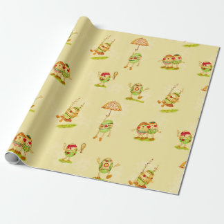 Vintage Easter wrapping roll Wrapping Paper