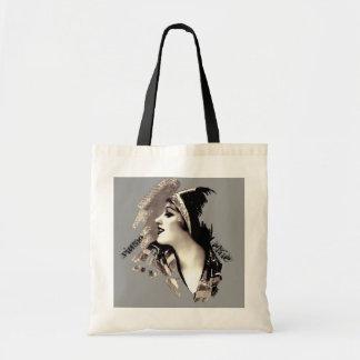 Vintage Echo Budget Tote Bag