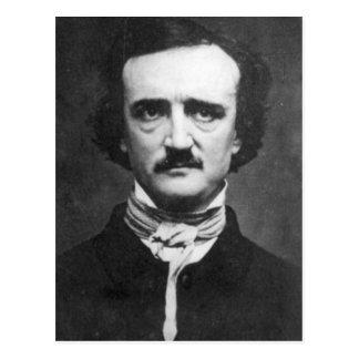 Vintage Edgar Allan Poe Portrait Postcard
