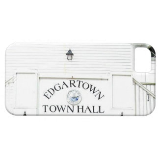 Vintage Edgartown Town Hall iphone 5/5s iPhone 5 Cases