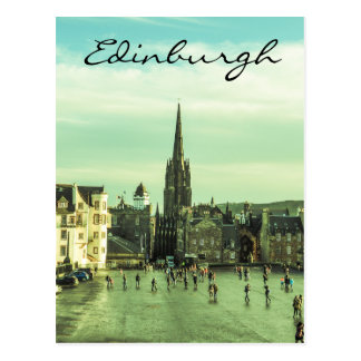 Vintage Edinburgh Postcard