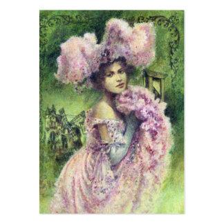 Vintage Edwardian Dancer ACEO Business Card