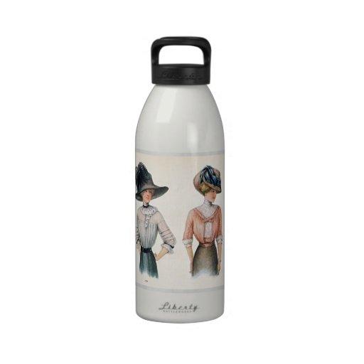 Vintage Edwardian Fashions Liberty Bottle Water Bottles