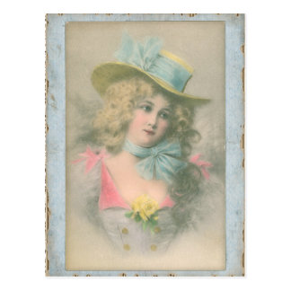 image Colored edwardian postcards 2 sexy miss fernande