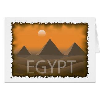 Vintage Egypt Card