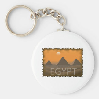 Vintage Egypt Key Ring