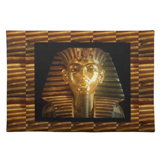 VINTAGE Egyptian Idols Art : PYRAMIDS of ANCIENT Place Mat